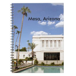 lds mesa arizona temple mormon picture notebook