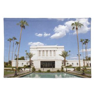 lds mesa arizona temple mormon picture placemat