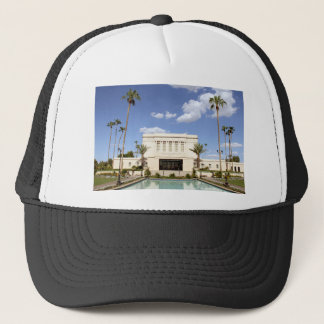 lds mesa arizona temple mormon picture trucker hat