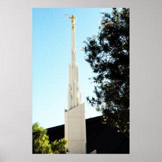 lds mormon las vegas nv temple posters
