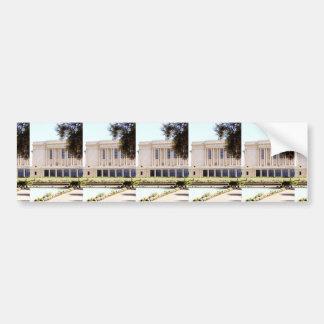 lds mormon mesa arizona temple picture bumper sticker