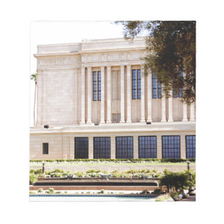 lds mormon mesa arizona temple picture notepad