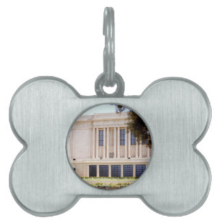 lds mormon mesa arizona temple picture pet ID tag
