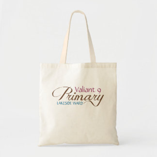 LDS Primary Tote for teachers or leaders Tote Bags