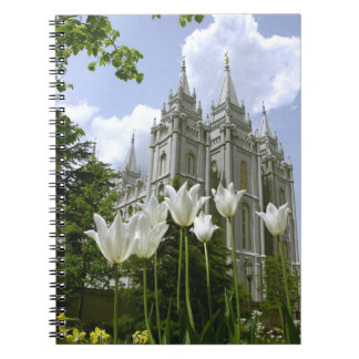 LDS Temple Salt Lake City, Utah Notebook