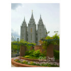 LDS Temple, Salt Lake City, Utah Postcard