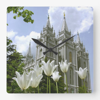 LDS Temple Wallclocks