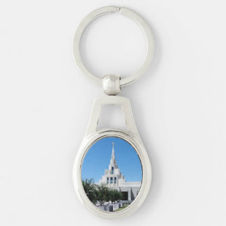 LDS Temples Key Ring