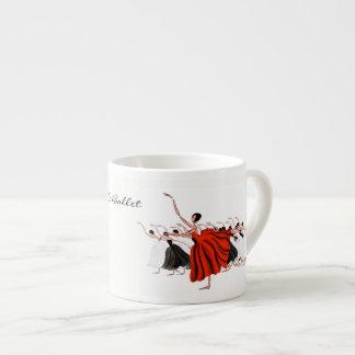 LE BALLET ESPRESSO CUP,  BALLET COFFEE MUG