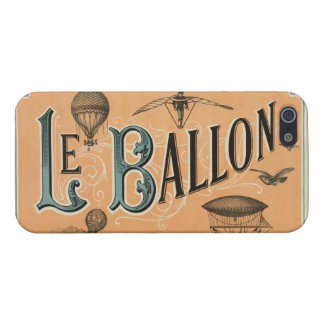 Le Ballon - French aeronautical journal 1883 Case For iPhone 5/5S