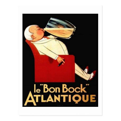 le Bon Bock Atlantique Post Card