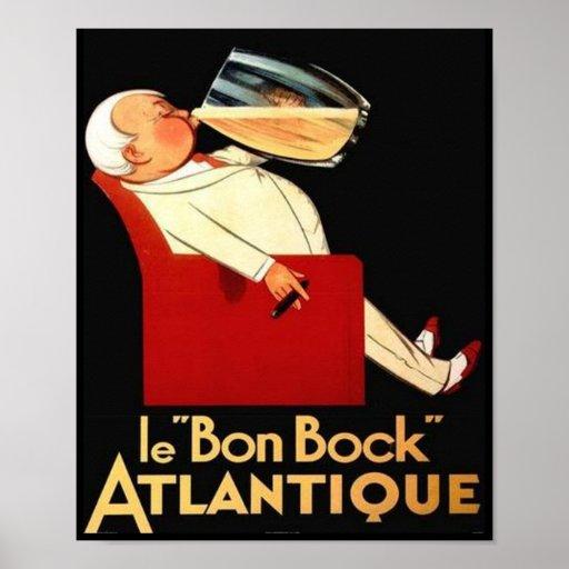 le Bon Bock Atlantique Print