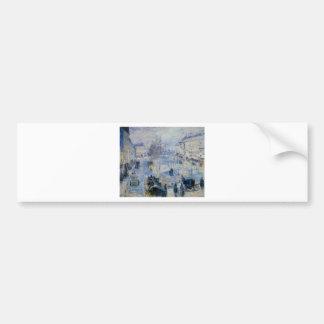 Le Boulevard de Clichy by Camille Pissarro Bumper Sticker