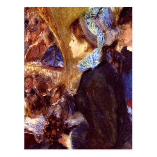Le Cafe Concert by Pierre Renoir Postcard
