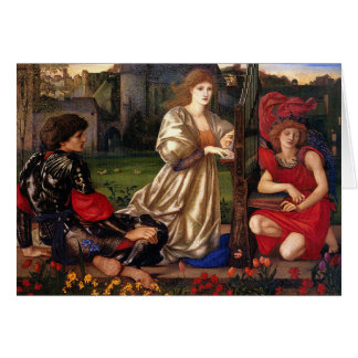 Le Chant D'Amour, Edward Burne-Jones, 1868-1877 Greeting Card