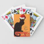 Le Chat Noel Poker Cards