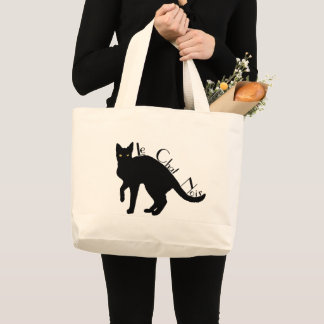 Le Chat Noir Black Cat French Tote