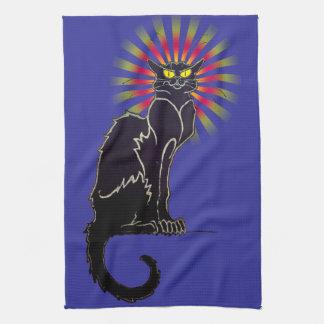 Le Chat Noir Black Cat Kitchen Towel