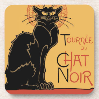 Le Chat Noir by Steinlen Coasters