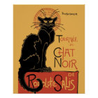 Le Chat Noir by Steinlen Poster