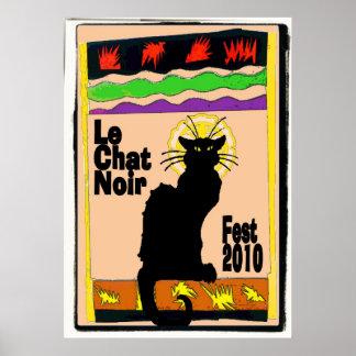 Le Chat Noir Fest 2010 Poster