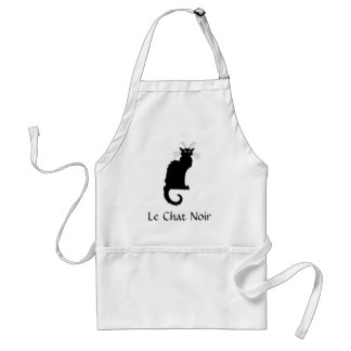 Le Chat Noir France Apron