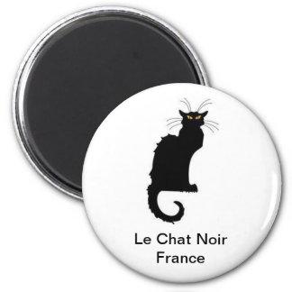 Le Chat Noir France Magnet