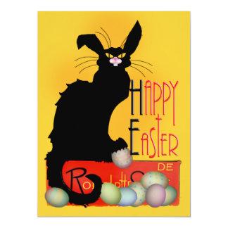 Le Chat Noir - Happy Easter Invitation