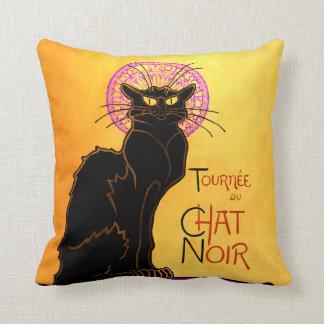 Le Chat Noir in Purple Cushion