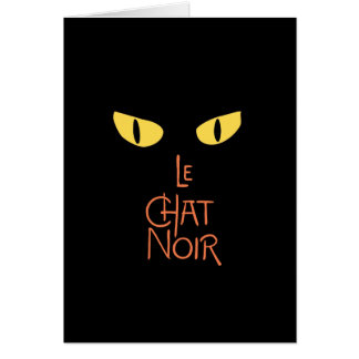 Le Chat Noir in the Dark Card
