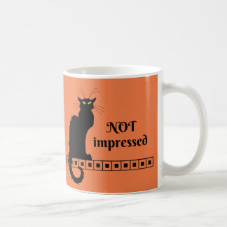 Le Chat Noir Not Impressed Coffee Mug