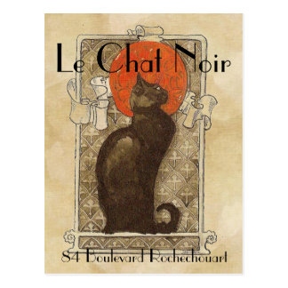 Le Chat Noir Postcard