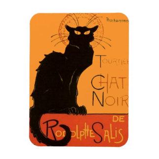 Le Chat Noir Rectangular Photo Magnet