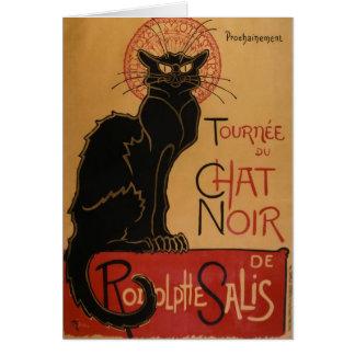 Le chat Noir - Steinlen Card