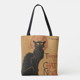 Le chat Noir - Steinlen Tote Bag
