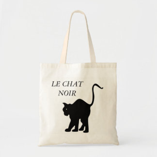 LE CHAT NOIR TOTE BAG
