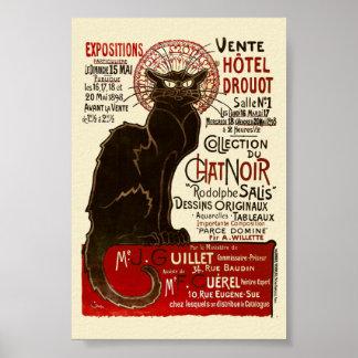 Le Chat Noir Vente Hôtel Drouot Posters