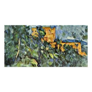 Le Château Noir By Paul Cézanne (Best Quality) Personalized Photo Card