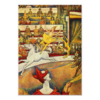 Le Cirque ( The Circus ) by Georges Seurat Card
