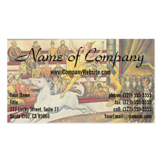 Le Cirque ( The Circus ) by Georges Seurat Pack Of Standard Business Cards