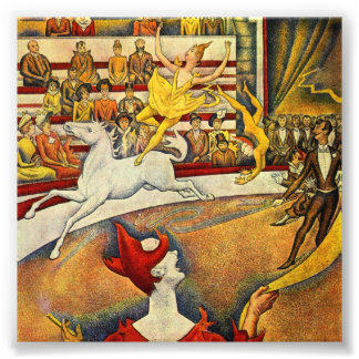 Le Cirque ( The Circus ) by Georges Seurat Photographic Print