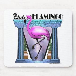 Le Club Flamingo Mouse Pad