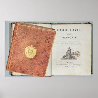 Le Code Civil des Francais' Poster