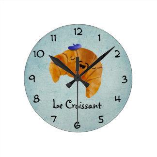 Le Croissant Wallclock