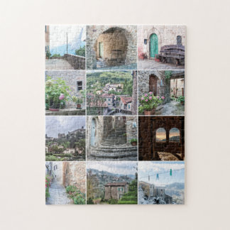 Le Dieci Castella - Colourful Jigsaw Puzzle