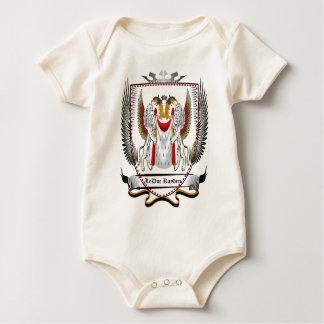 Le Duc Newest Crest colored1.jpg Baby Bodysuit