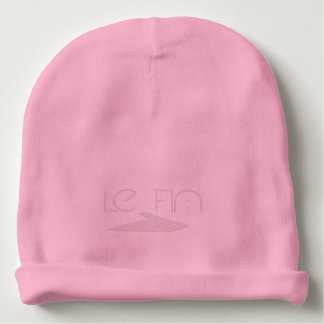 Le Fin skull 1 pink Baby Beanie