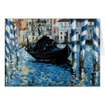 Le Grand Canal à Venise - Edouard Manet Greeting Card