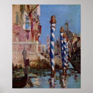 Le Grand Canal à Venise - Edouard Manet Poster