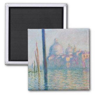Le grand canal - Monet Square Magnet